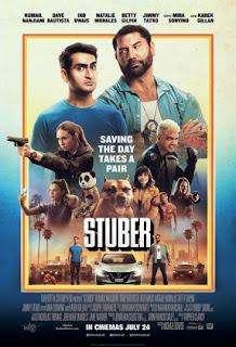 Bintangi oleh Kumail Nanjiani dan Dave Bautista akan segera tayang di Bioskop Cinema  Review Stuber 2019 Bioskop