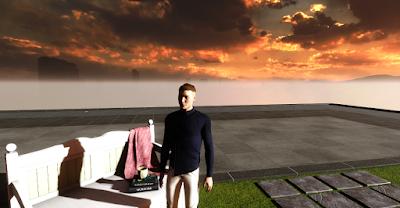 Un avatar de Lorenzo Soccavo dans un metavers