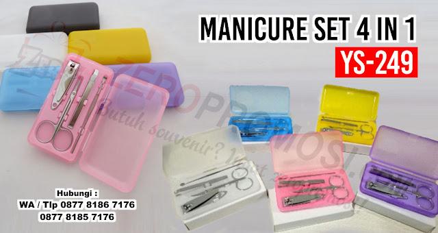 4Pcs/set Nails Clipper Kit Manicure Set, 1set Stainless Steel Manicure Set, Souvenir Pernikahan MANICURE PEDICURE, SOUVENIR Potong Kuku, Perlengkapan Nail Art, Souvenir Gunting Kuku 4in1 dengan harga terjangkau