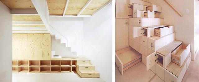Escaleras de madera a medida espacios en madera - Duelas de madera ...