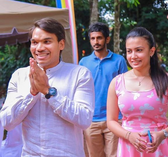 "Our romance began with a marathon race"" -- Namal | Gossip Lanka ..."