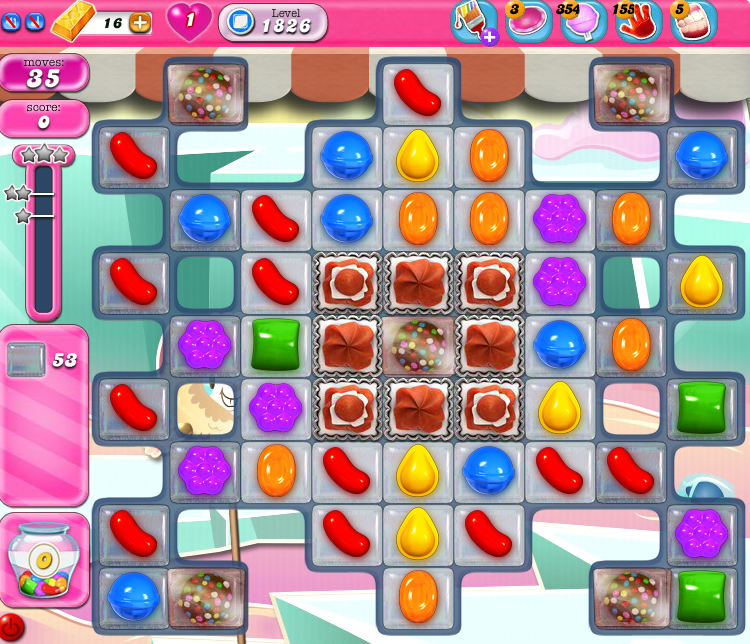 Candy Crush Saga 1826