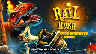 Rail Rush Apk Mod Unlimited Money for android