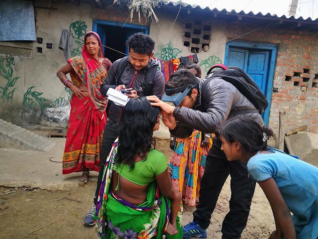 trachoma survery Nepal