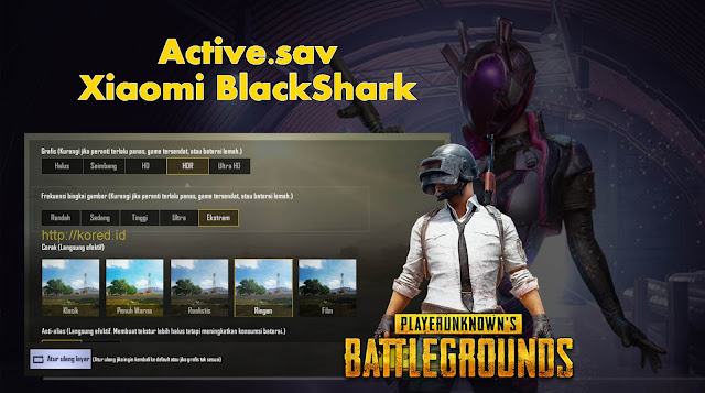 Active.sav Xiaomi BlackShark Pubg Mobile
