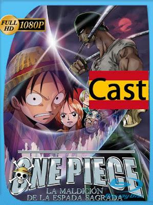 One Piece: La Maldición de la Espada Sagrada (2004) [1080p] Castellano [GoogleDrive] [MasterAnime]