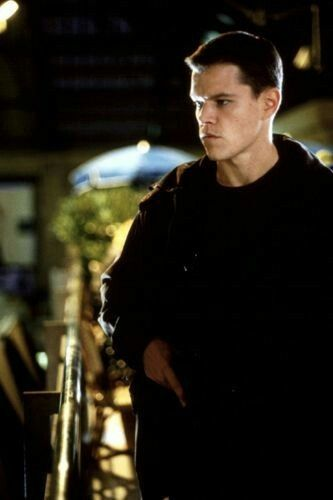 "Matt Damon as Jason Bourne in  ""The Bourne Identity"""