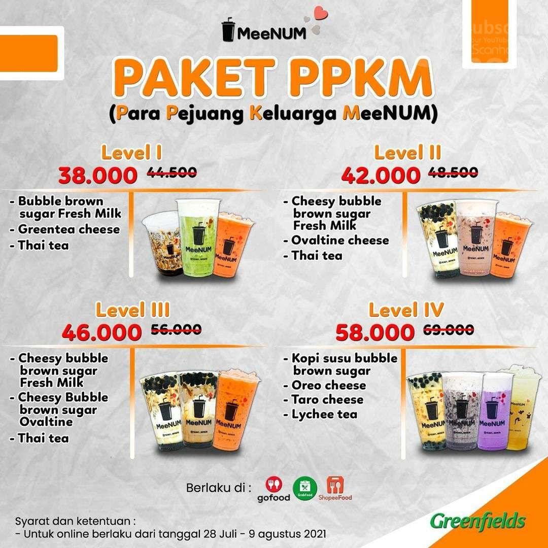 MeeNUM Promo PAKET PPKM! Harga Level mulai dari Rp 38.000*