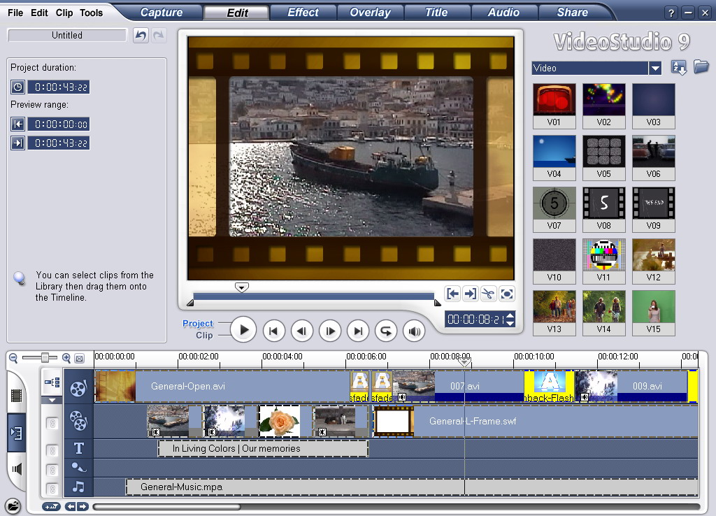 Ulead Video Studio 9 - TOP FULL GAMES AND SOFTWARE