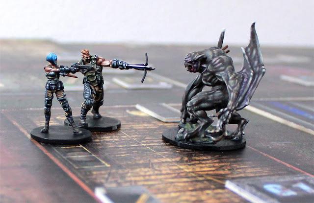 Vampire Hunters miniatures