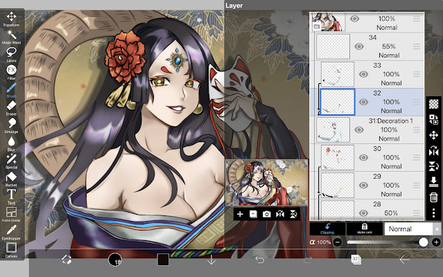How to use Clipping in ibisPaint X