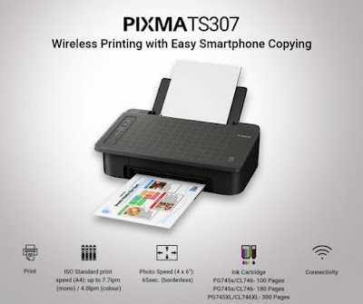 Merek printer terbaik Canon Pixma TS307