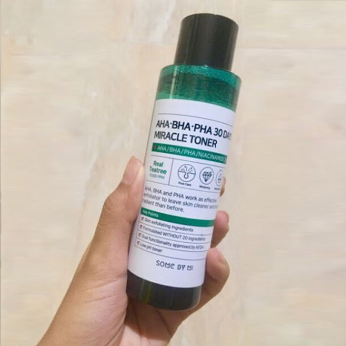 [HONEST REVIEW] SOMEBYMI AHA BHA PHA MIRACLE TONER