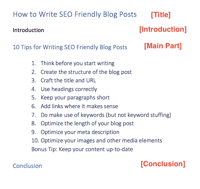 Tips How To Write SEO Friendly Blog Posts
