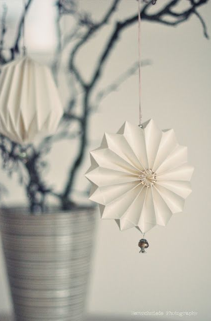 Christmas origami DIY