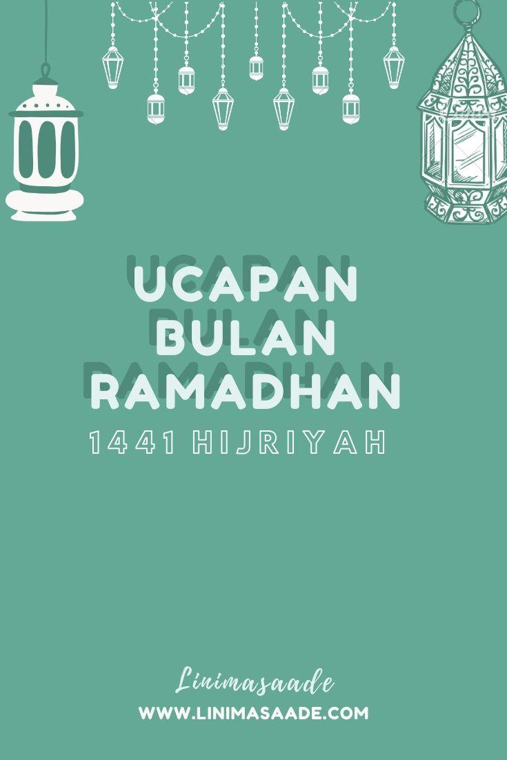 32 Ucapan Selamat Berpuasa Ramadan 2020 Lengkap Linimasaade