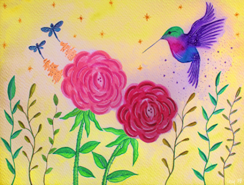 MISCELÁNEA Pétalos de rosa, mejillas de melocotón, de Kyra Galván. Apuntes sobre las ilustraciones | Cecilia Mayorga