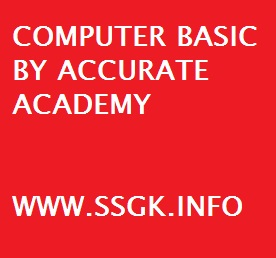COMPUTER BASIC BY ACCURATE ACADEMY