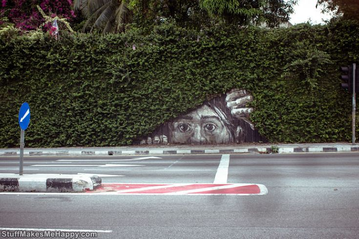 Nature and Street Art: Stunning Street Art Photography with Deep Meaning