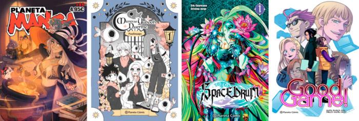 Novedades Planeta Comic octubre 2021 - manga europeo