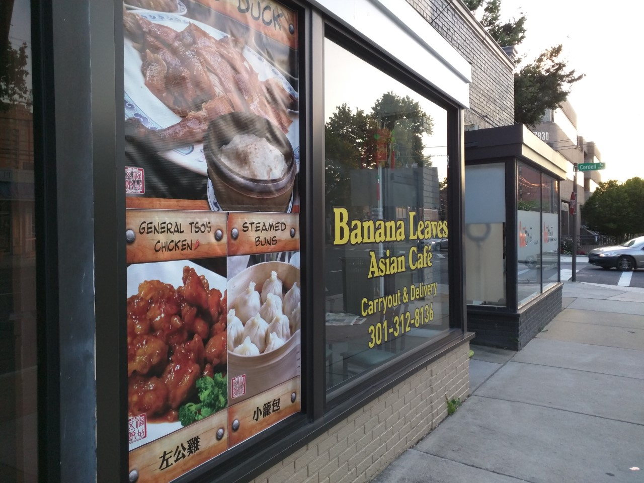 robert dyer @ bethesda row: banana leaves asian cafe opening in