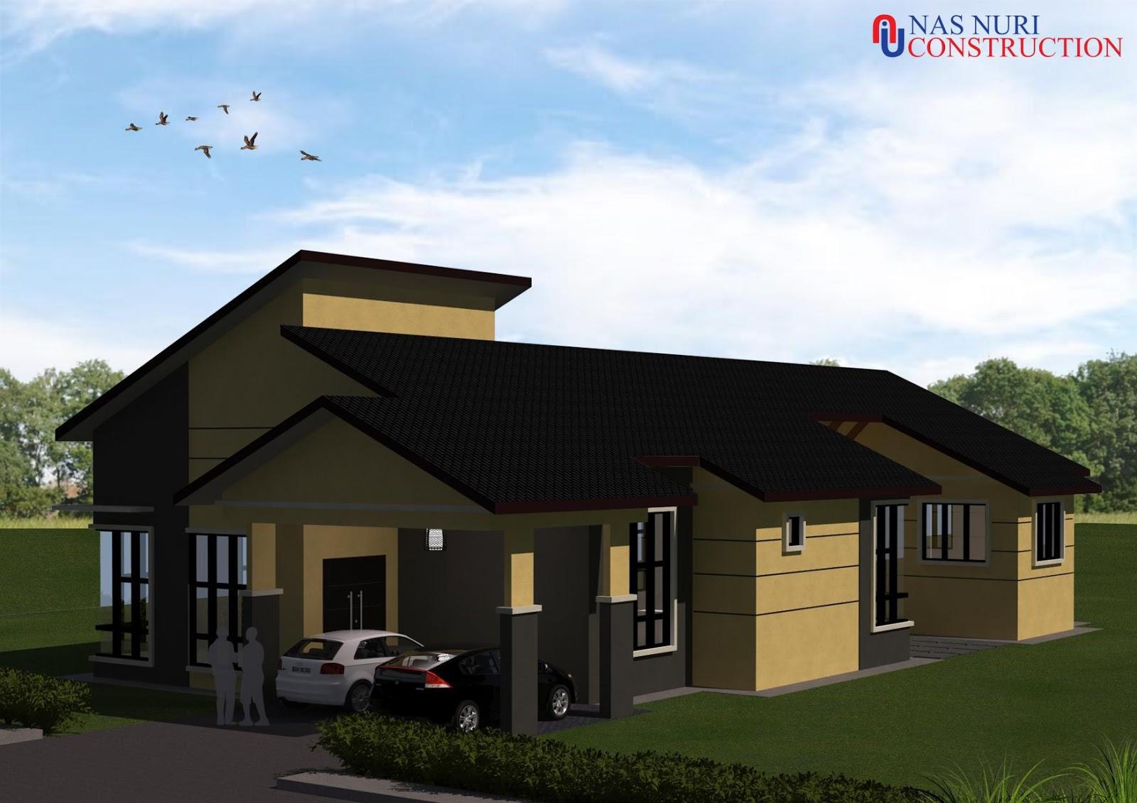 30 Pelan Rumah 1 2 3 Tingkat Percuma Design Banglo Terkini 2020