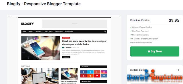 Blogify অসাধারন একটি Blogger Template ডাউনলোড করে নিন আপনার জন্য 23