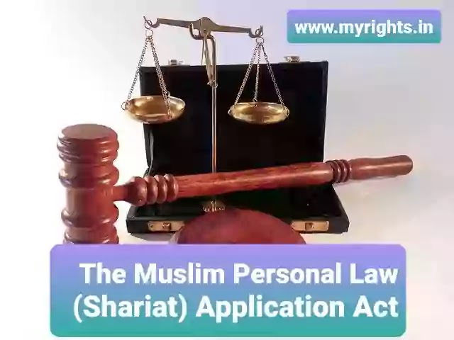 The Muslim Personal Law (Shariat) Application Act, 1937