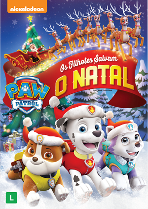Patrulha Canína - Os Filhotes Salvam o Natal Torrent DVD / DVDRip Download