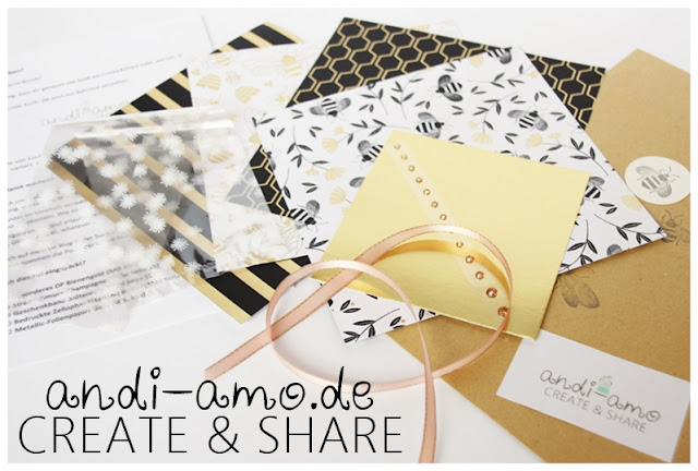 andi-amo Create&Share Bastelpaket Stampin Up
