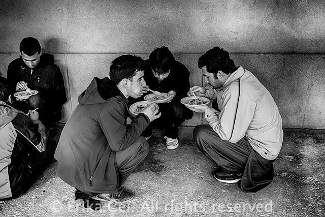 Trieste borgo san Sergio rifugiati