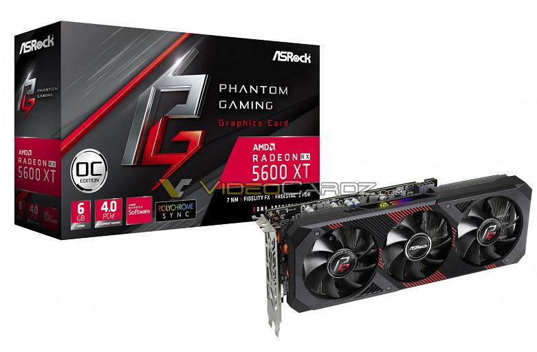 Unusual Radeon RX 5600 XT completely declassified in anticipation of the announcement