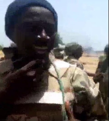 """""""I Came Here Alive, I Will Leave Here Alive"""" - Nigerian Soldier Says On War Field"""