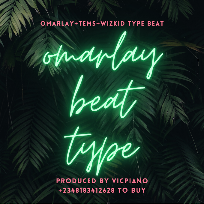 Omah lay+Tems+oxlade beat type- gained prod by vicpiano-dancehall afro