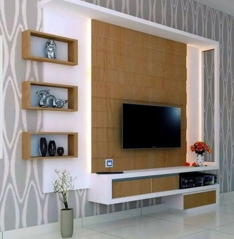 44 Modern Tv Wall Units Unique Living Room Tv Cabinet Designs 2020