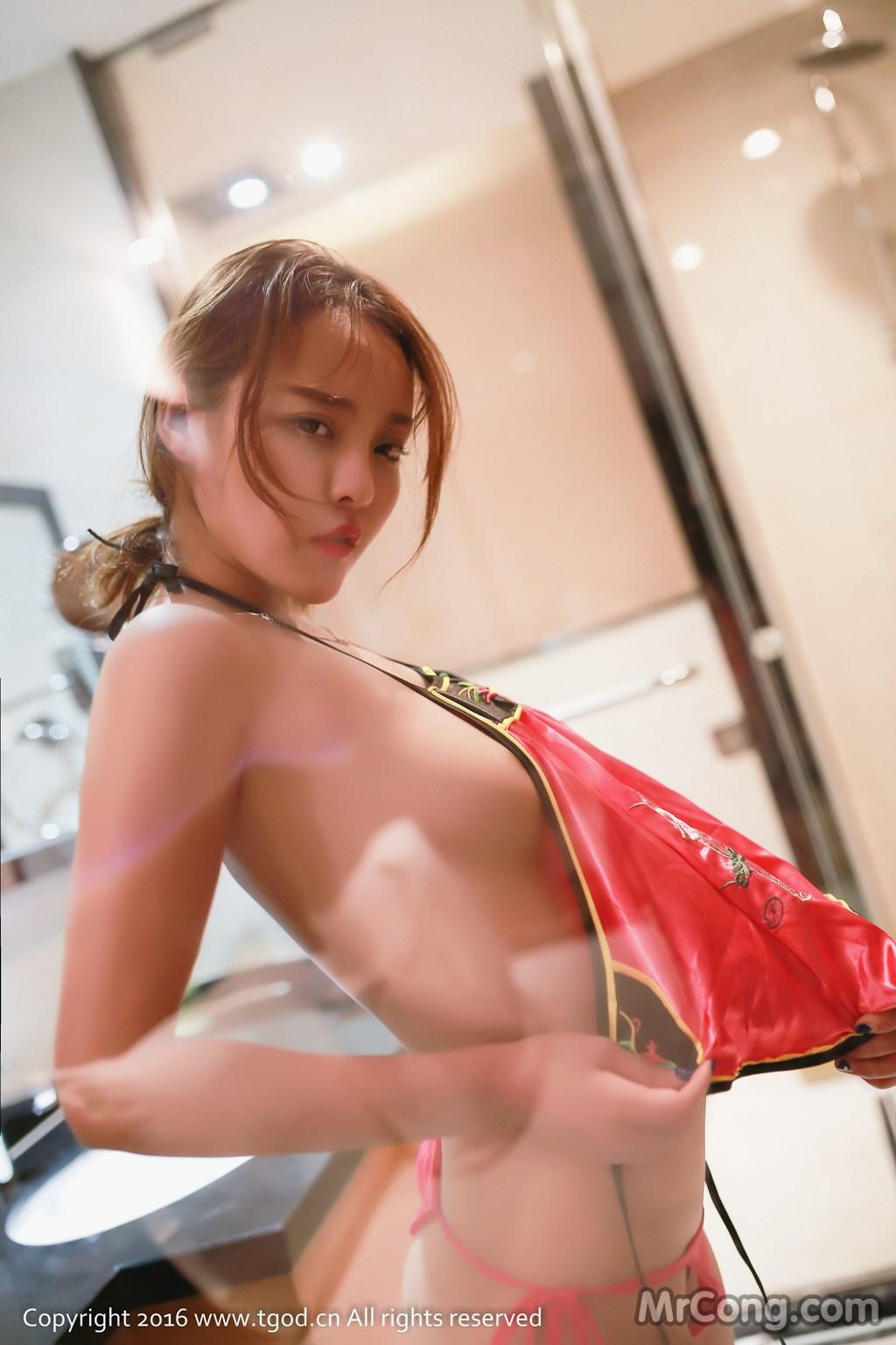 Image MrCong.com-TGOD-2016-07-22-Zhan-Ni-Hua-039 in post TGOD 2016-07-22: Người mẫu Zhan Ni Hua (珍妮花) (40 ảnh)