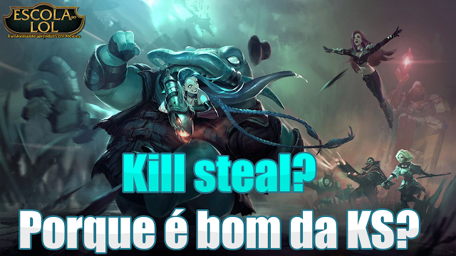 Kill steal no LoL