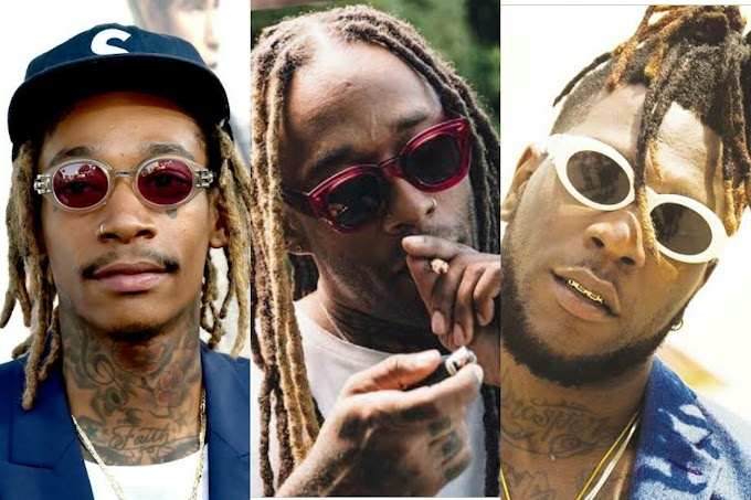 Wiz Khalifa and Ty Dolla Sign Flex with Burna Boy - Watch