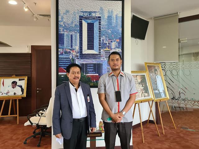 Temui Kepala Perpusnas RI, Bupati ASA Dapat Sinyal Pembangunan Gedung Perpustakaan di Tahun 2021