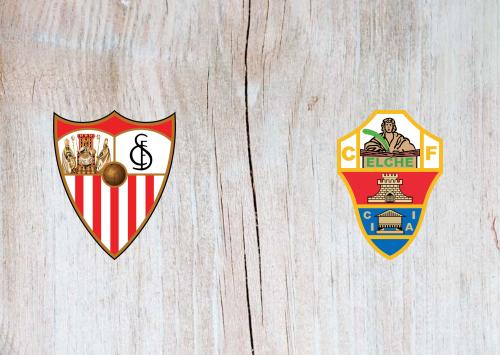Sevilla vs Elche -Highlights 17 March 2021