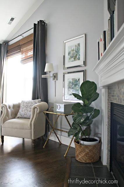 Sitting area in master bedroom Whitestone