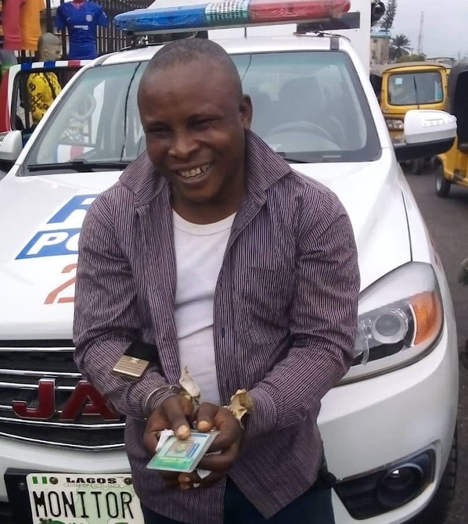 Police capture man who allegedly stole an iPhone 11 from a passenger in a tricycle and attempted to bribe police when he was caught