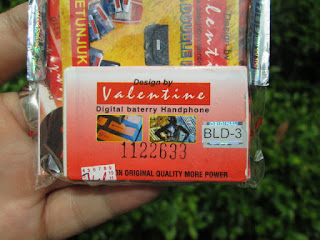 baterai Nokia BLD-3 (2100) valentine