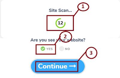 adbtcs confirm your website