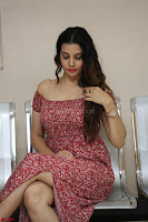 Diksha Panth in a Deep neck Short dress at Maya Mall pre release function ~ Celebrities Exclusive Galleries 054.JPG