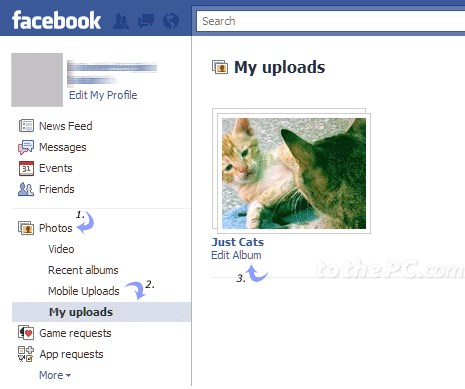 how to delete photo albums on facebook