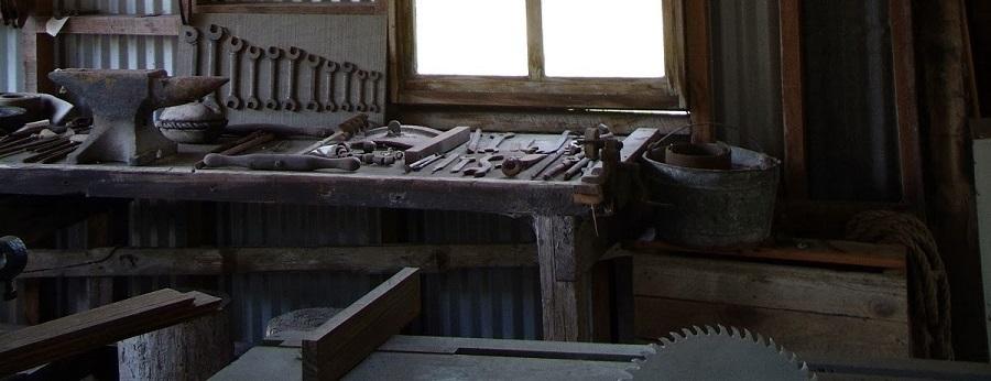 Herramientas originales del Koreshan Settlement