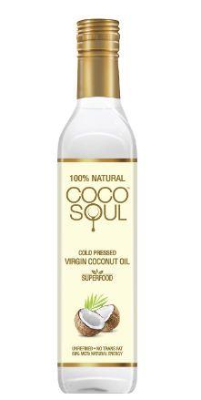 Coco Soul Cold Pressed Natural Virgin Coconut Oil