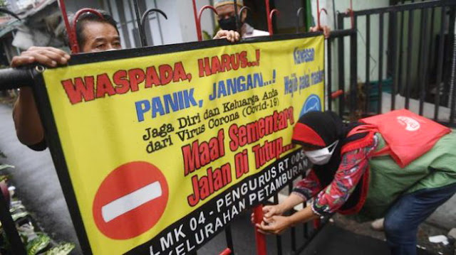 Jokowi Minta Karantina Tingkat RT/RW, Satgas Aktifkan Kembali Posko Covid-19