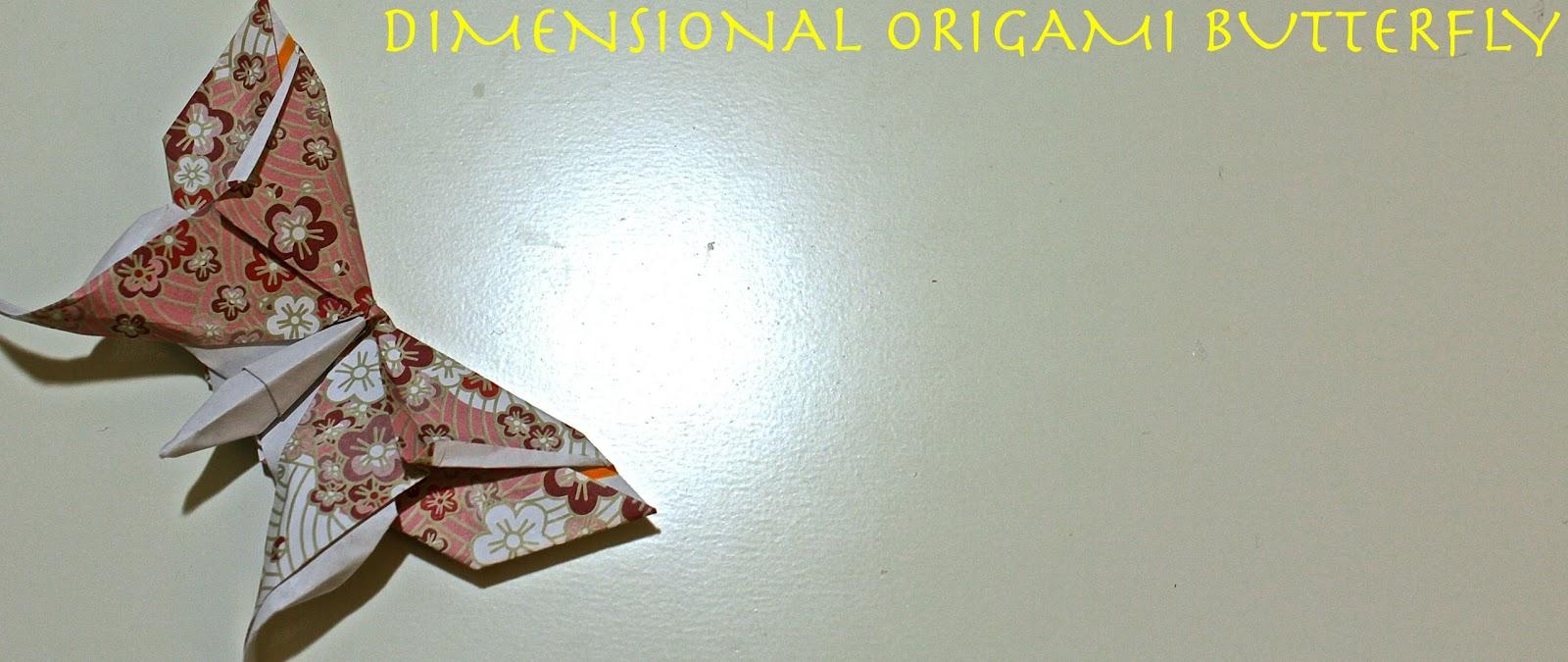 Origami Maniacs: Origami Swallowtail Butterfly by Evi Binzinger | 675x1600